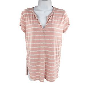 H By Bordeaux Anthropologie Top Pink S